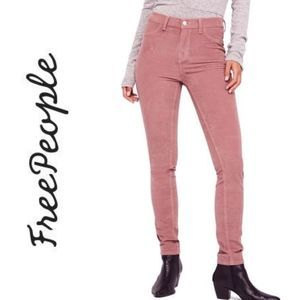 Free People | long and lean corduroy jeggings